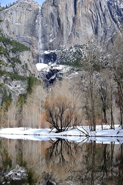 Yosemite Falls, Yosemite National Park, California.