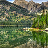 Taggart Lake.  Grand Teton National Park, Wyoming.