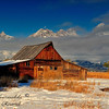 John Moulton Barn.  Grand Teton Nation Park, Wyoming.