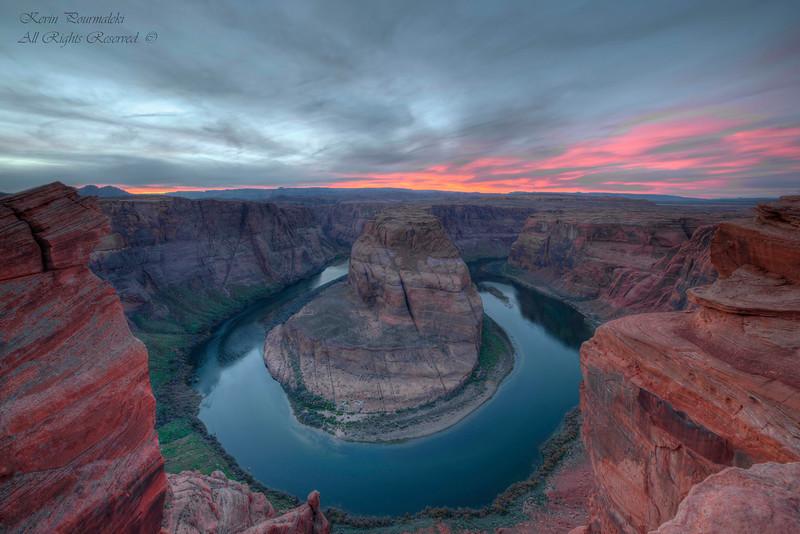 horseshoe bend. Arizona.
