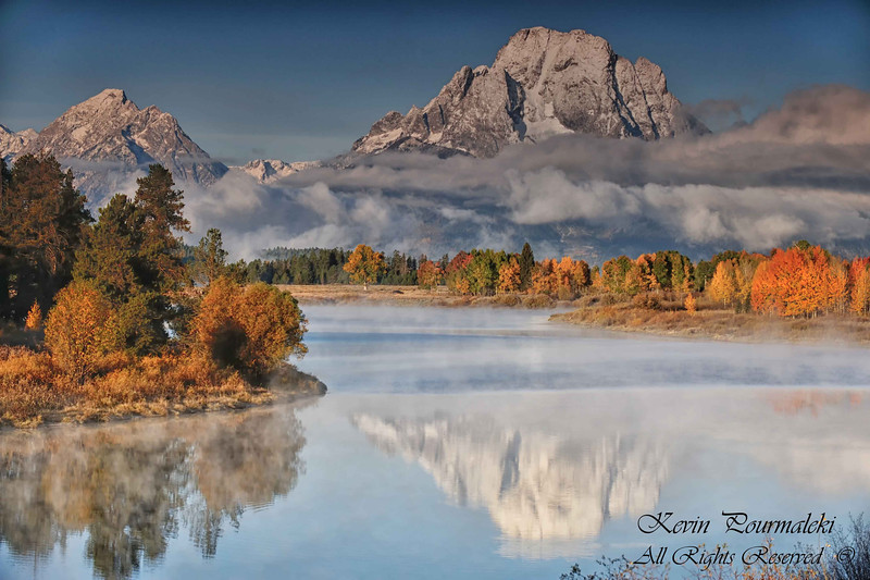 Oxbow bend. Grand Teton National Park, Wyoming
