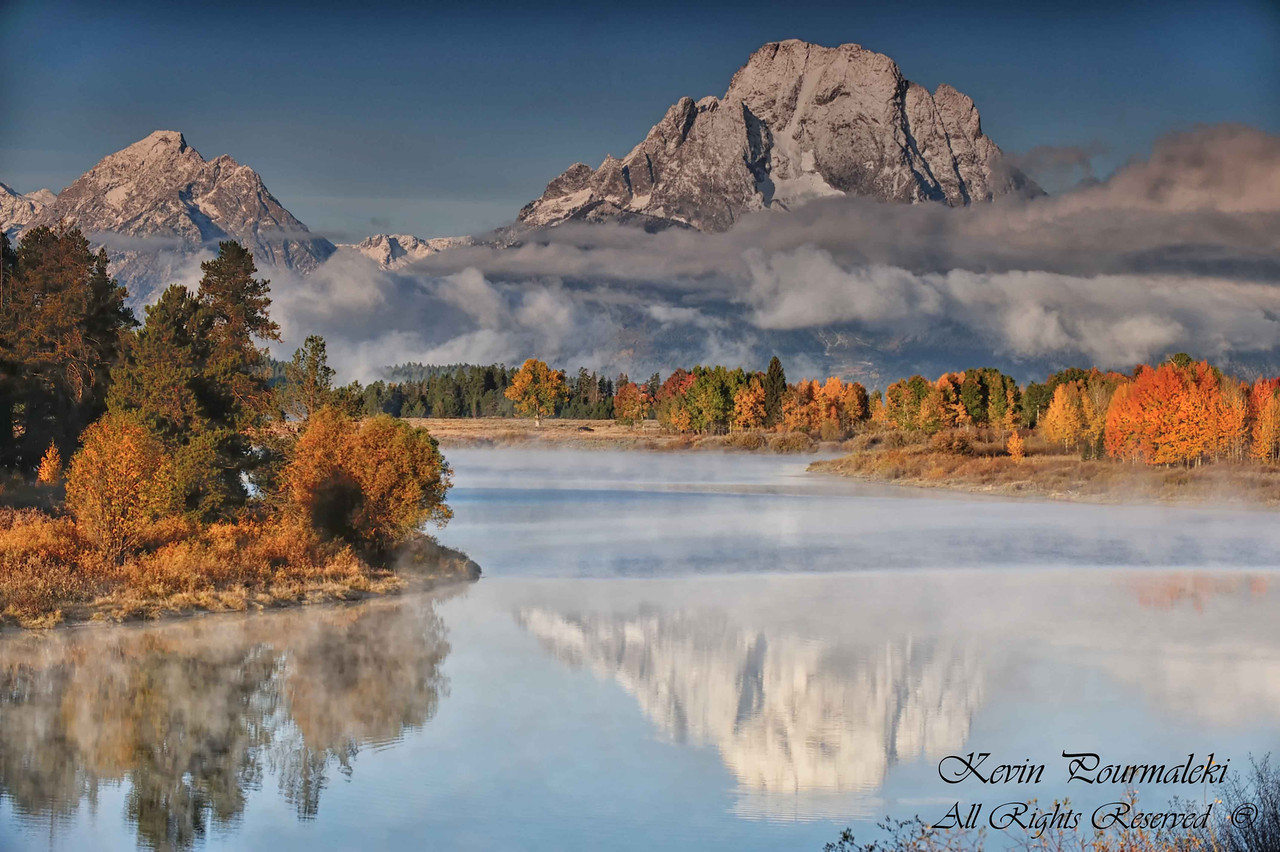 Oxbow bend. Grand Teton National Park, Wyoming