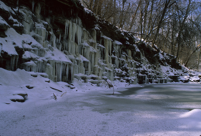 Snow, Ice, and Icicles, Oh My!<br /> <br /> <br /> Nikon 24mm, F4