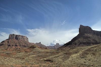 Hwy 128 Cisco to Moab Utah