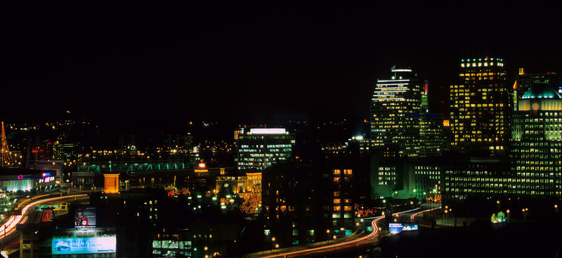 Cityscape from Mt. Adams