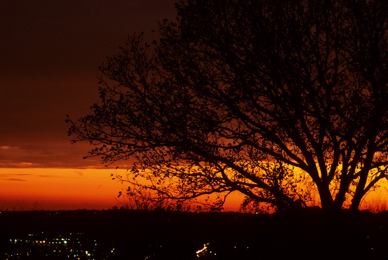 Sunset from Ault Park, Cincinnati