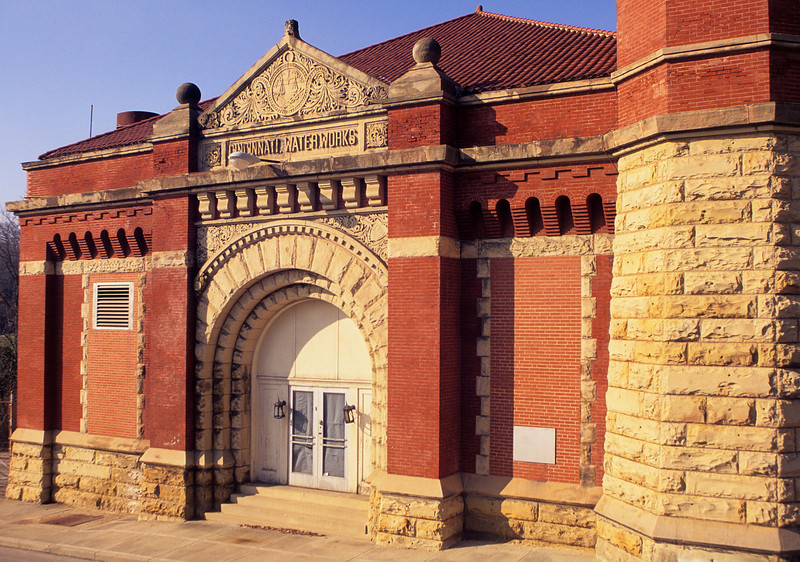 Cincinnati Water Works pumping station