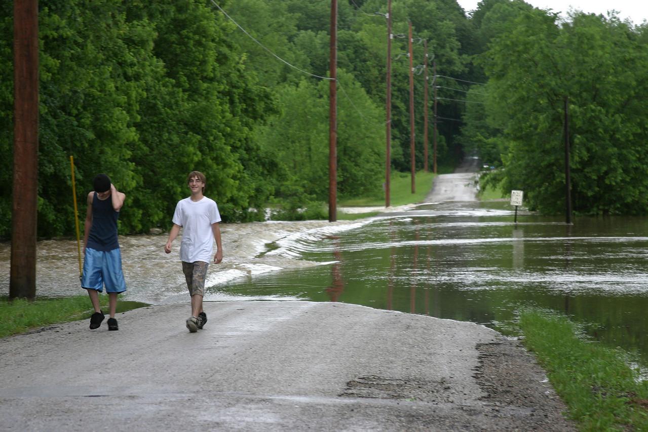 Randall Road near Seelyville