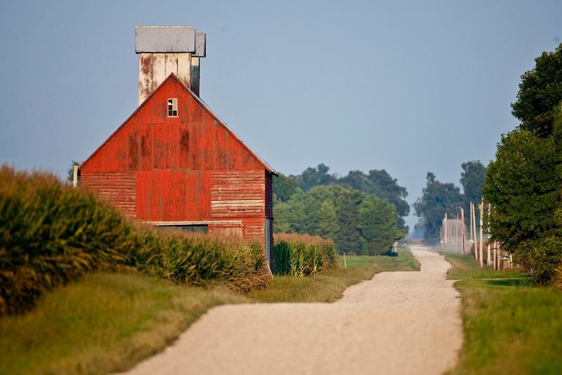 Benton County, Indiana.  Sept 2009.