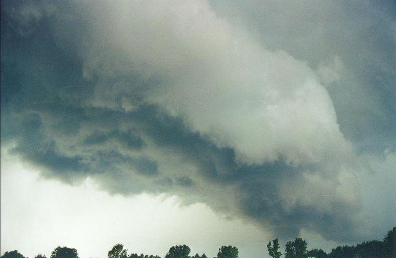 Hendricks County Indiana T-Storm, July 2001.