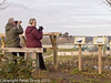 02 Jan 2011. New viewing area on 'the mound'. Copyright Peter Drury 2011