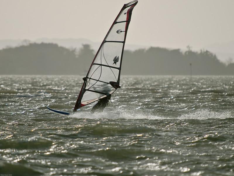 Windsurfers. Copyright 2009 Peter Drury
