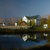 Hi Ute, Park City, Utah - early fall morning.