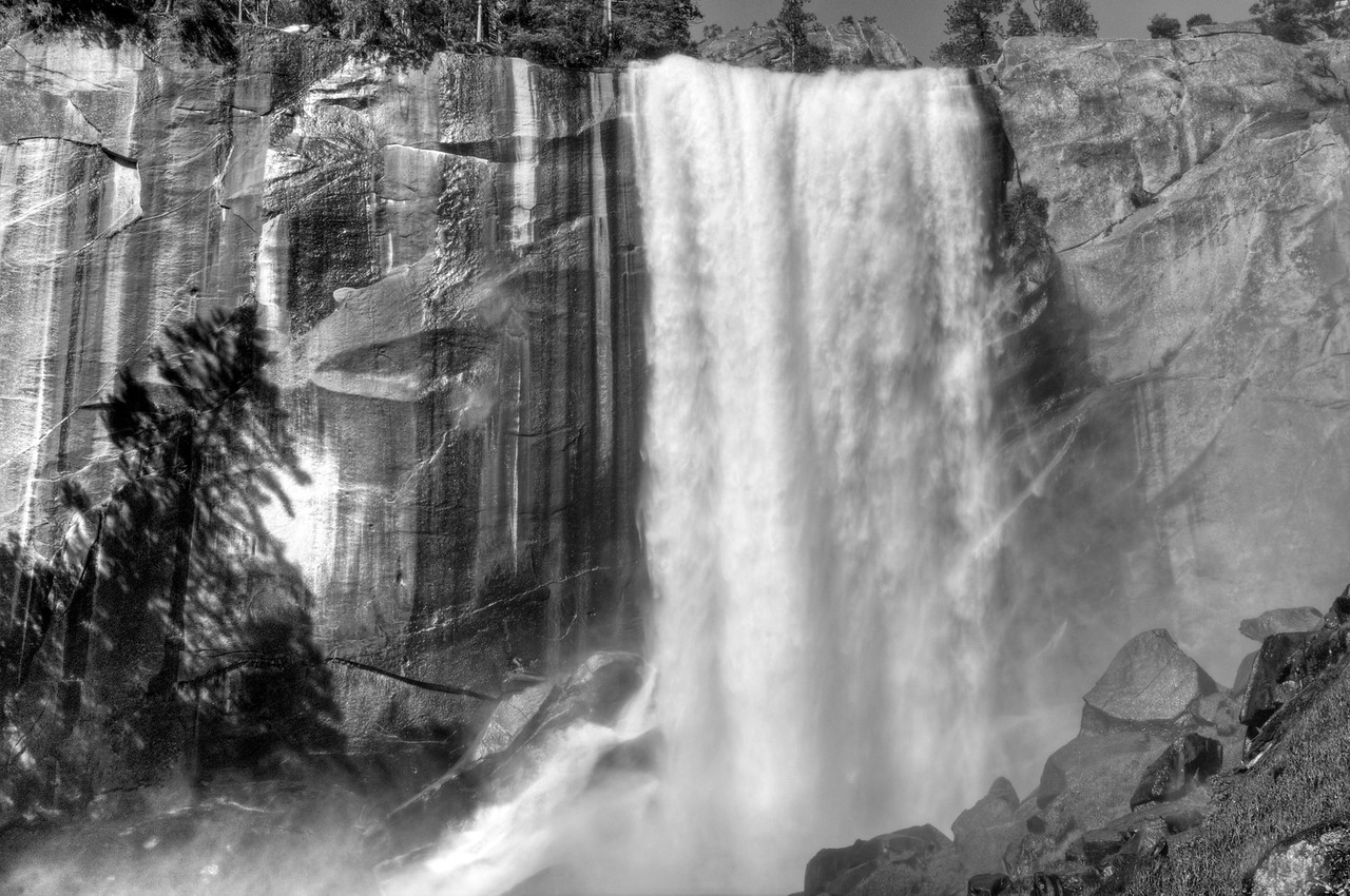 Vernal Falls, Myst Trail, Yosemite National Park