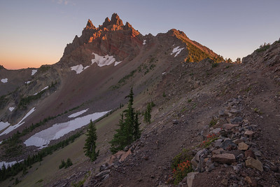 Three Fingered Jack Sunset