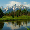 Schwabacher's Landing, Tetons by Shalayne Smith-Needham