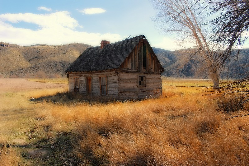 Boyhood home of Butch Cassidy.