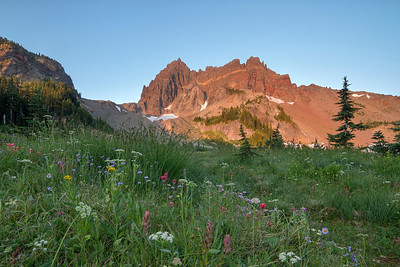 Canyon Creek Meadows Sunrise