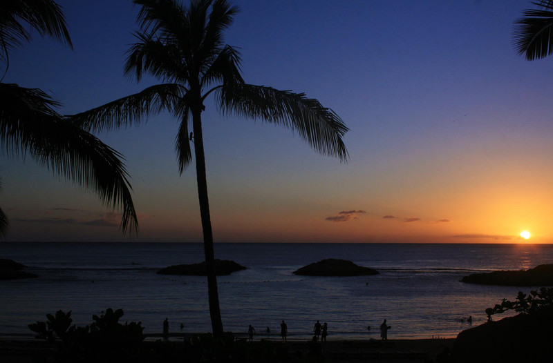 Sunset in Hawaii by Steven Smith