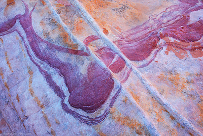 Valley of Fire Abstract Sandstone Detail