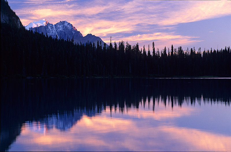 Emerald Lake Sunset