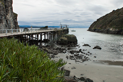 """Trinidad Bay dock, Trinidad, California December, 2010  This photo is available in a large variety of sizes and mounting options. Check available options by clicking on the """"Buy"""" button upper right."""