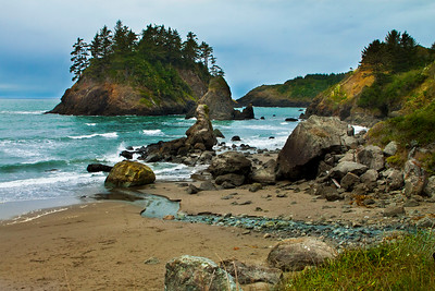 "Trinidad Beach, California November, 2010  This photo is available in a large variety of sizes and mounting options. Check available options by clicking on the ""Buy"" button upper right."