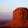 Merrick Butte At Sunset - Monument Valley, UT