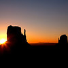 Mittens Sunrise - Monument Valley, UT