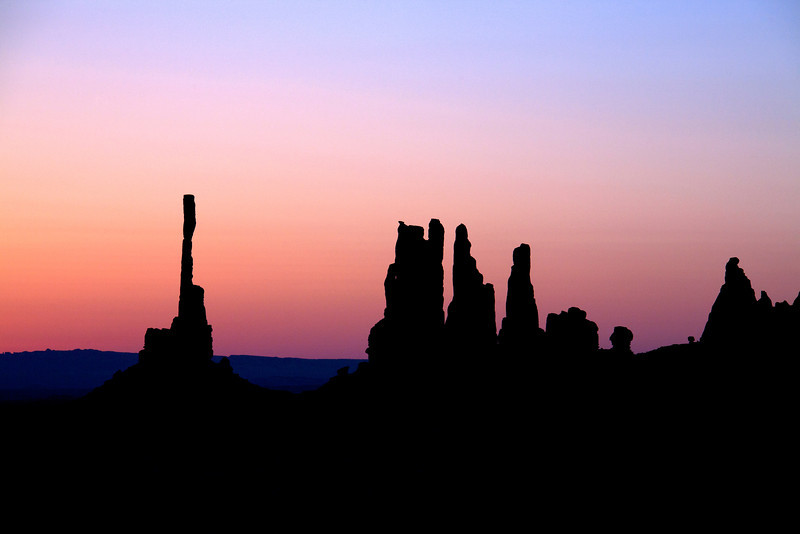 Lavender Sunrise - Monument Valley, UT