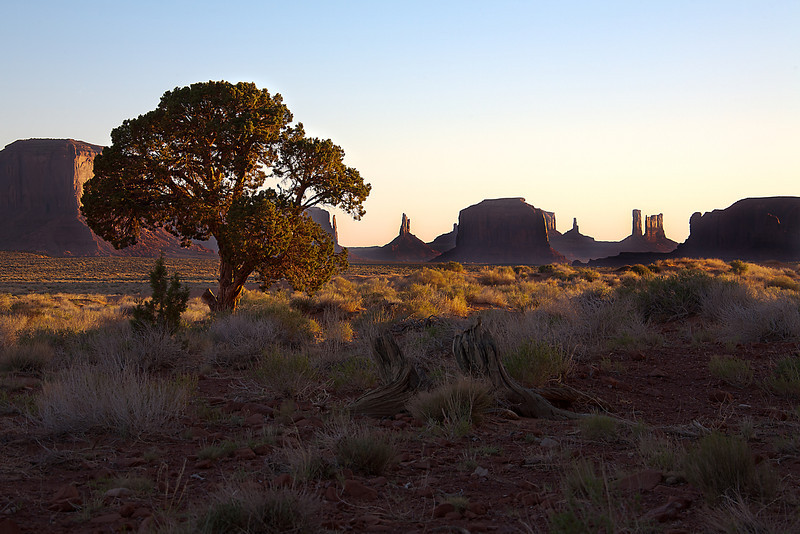 Morning Glow - Monument Valley, UT