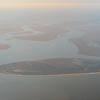Airborne view of the Southern end of Jekyll Island