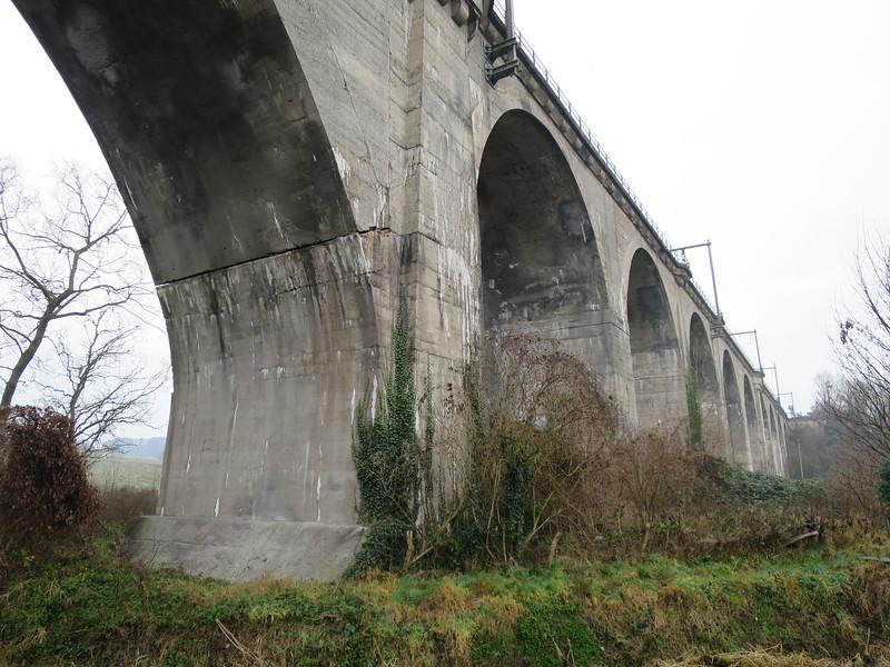 Spoorwegviaduct uit de eerste wereldoorlog