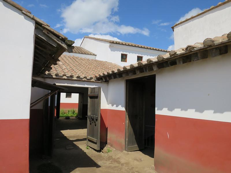 Woning met werkplaats en slavenverblijven