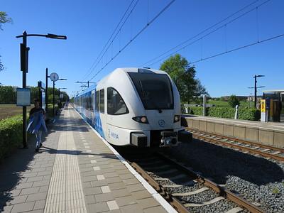 Arriva trein Zwolle-Dalfsen