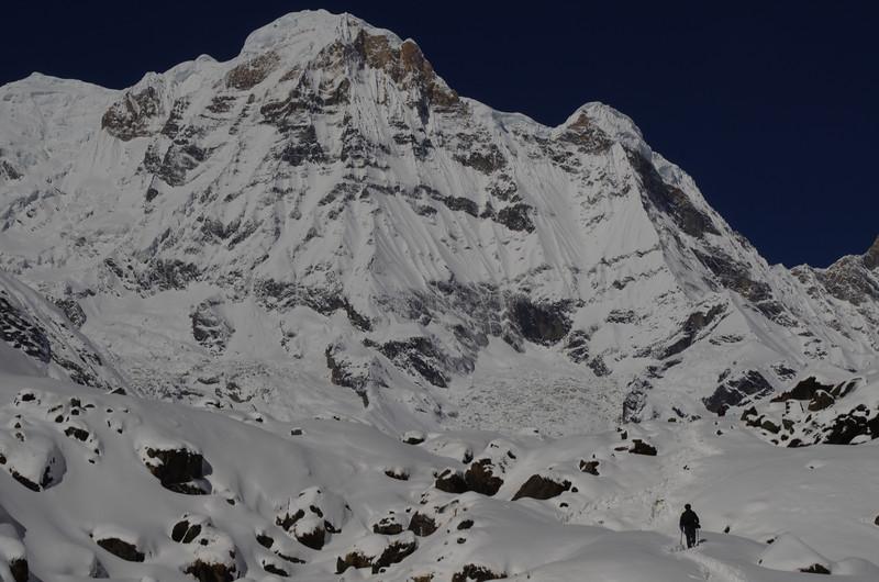 Winter in the Annapurnas