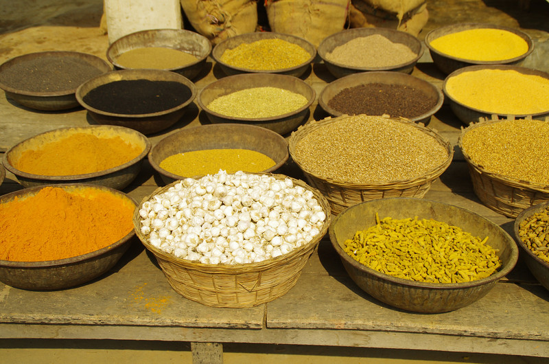 Spices in Janakpur