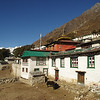 A morning in Pangboche, of the highest villages in the Khumbu region