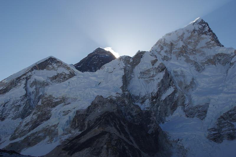 Everest view at Kalla Patthar