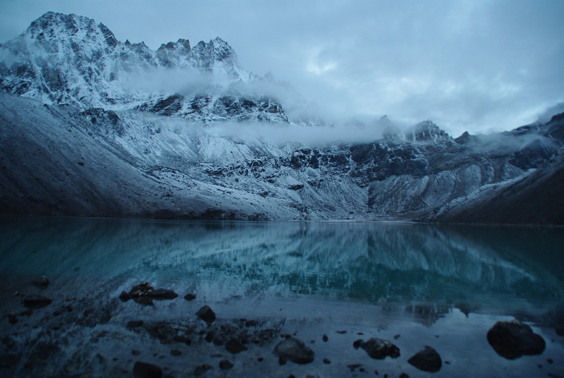 The holy lakes of Gokyo - Day 3