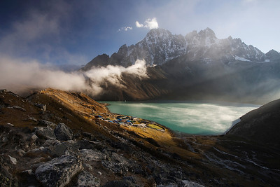 Gokyo sunrise at 4880m