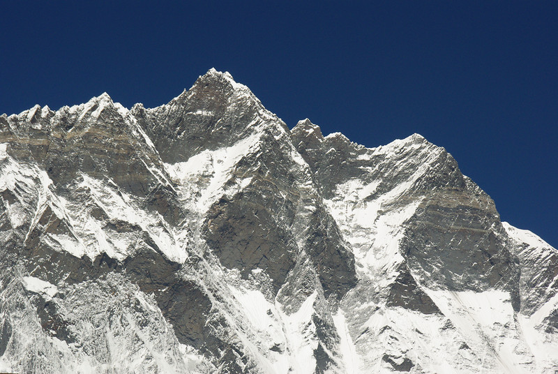 The Lhotse South Face, 3500 Meters vertical