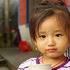 Tibetean girl in Pokhara