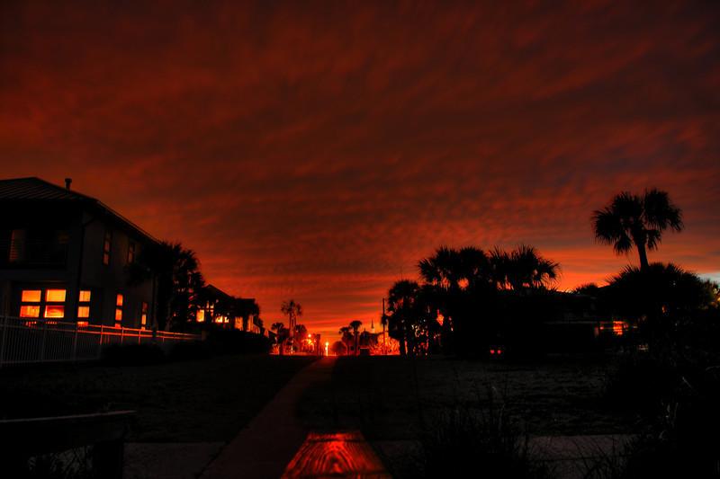 Neptune Beach Sunset
