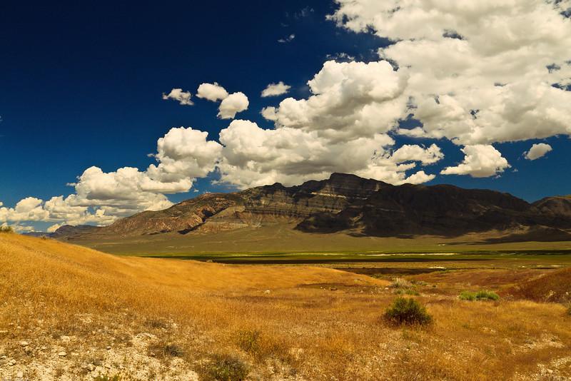 A landscape taken June 11, 2011 near Ely, NV.