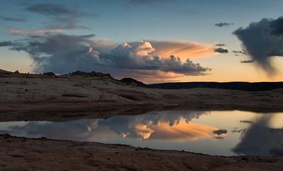 Sunset at Water Pockets