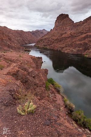 Dark Red Canyon
