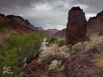 Storm in Black Canyon