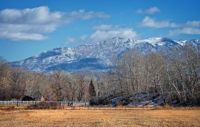Nevada Ranch in Winter
