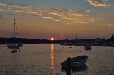 Sunset, Camp Ellis, Saco Maine, 2012